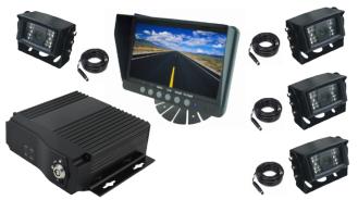 Kit-4-caméras-enregistreur-4-canaux