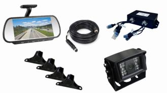 Kit-Kamera-Radar-Bildschirm-Reviewer
