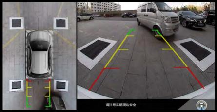 3-D-Draufsicht-mit-Überlagerung-zurückliegende-abstände